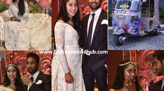 Shriya Bhupal and Anindith Reddy's Sangeet Ceremony!