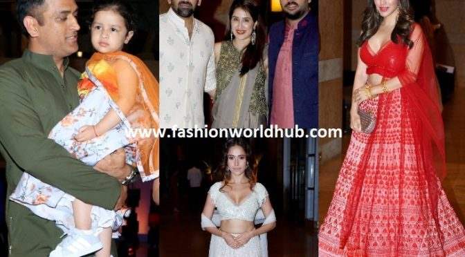Celebrities at Poorna Patel's sangeet!