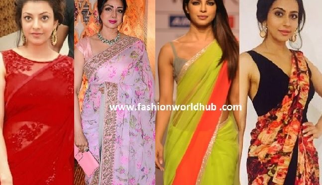 Chiffon sarees the unparallel material with an ultimate Grace for All occasions!