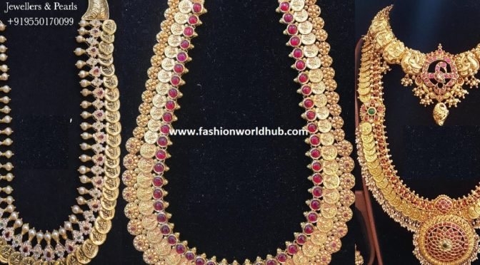 Kasulaperu Haram collections from Om prakash Jewellers