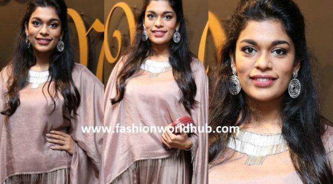 Sreeja Kalyan at Sheetall Nahata Couture launch
