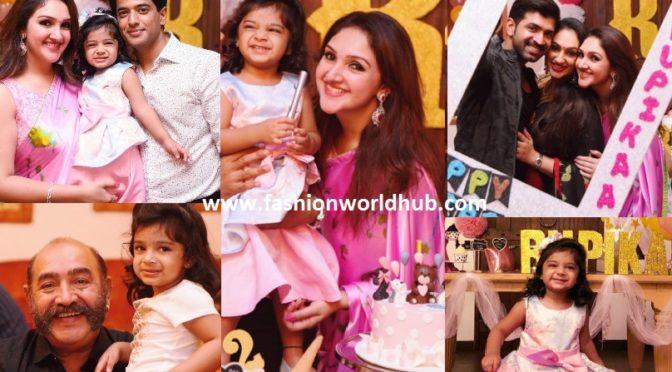 Sridevi Vijaykumar Daughter Rupikaa's 2nd Birthday Celebration Photos!