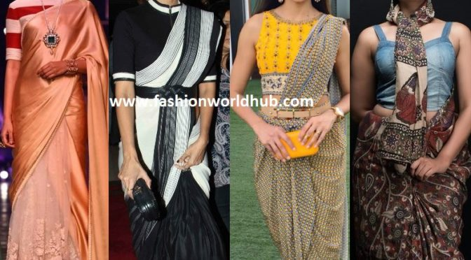 The draping styles to pep up your traditional saree