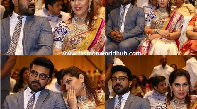 Upasana and Ramcharan at Anirudh Reddy's Wedding