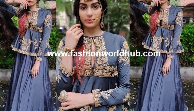 Adah Sharma in Label Grey Space