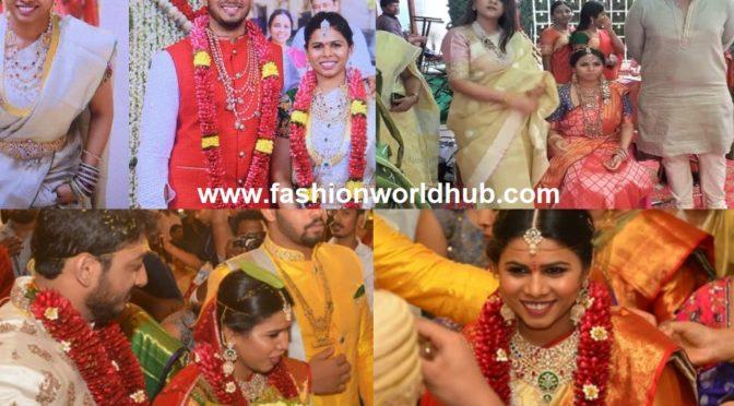 AP Minister Bhuma Akhila Priya's Wedding