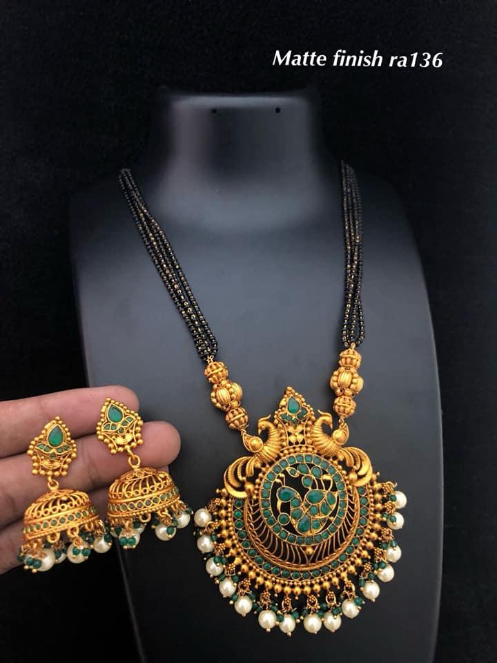 One Gram Gold Mangalsutra Designs Fashionworldhub