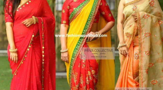 Designer sarees & blouses by Priva boutique