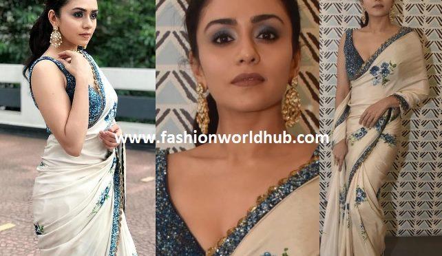Amruta Khanvilkar in SVA Couture