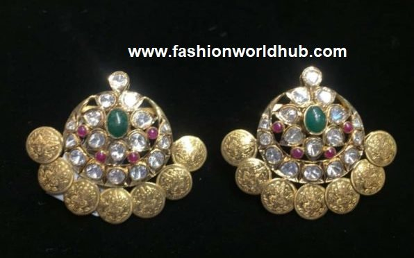 Kasu diamond Earrings