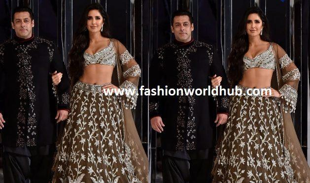 Salman Khan, Katrina Kaif Walk the Ramp for Manish Malhotra