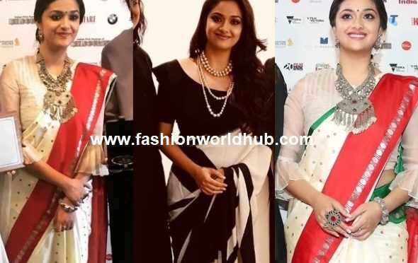 Keerthy Suresh at the Indian Film Festival of Melbourne