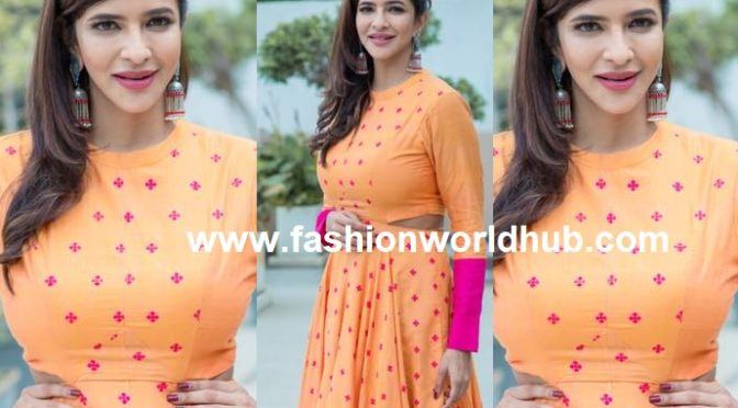 Lakshmi Manchu in Label Debashri Samanta