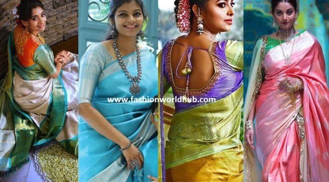 Trending Light Color Pattu Sarees!