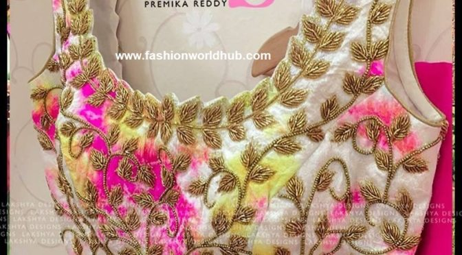 Designer saree & blouse by Lakshya By Premika Reddy