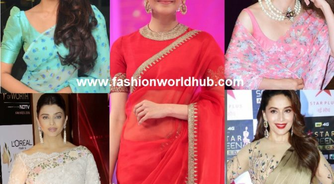 A Quick Glimpse on the Evergreen Saree Trends!