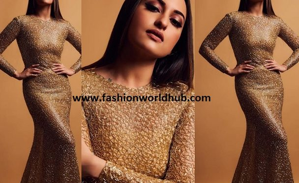 Sonakshi Sinha in Ali Younes Couture
