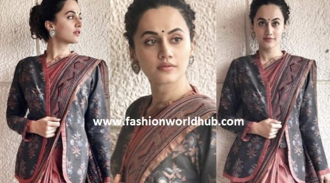 Taapsee Pannu in Anjali Jani For Mulk Screening