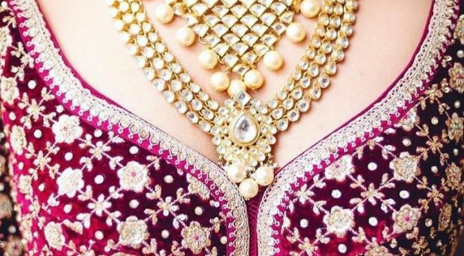 Stunning Bridal kundan jewellery designs!
