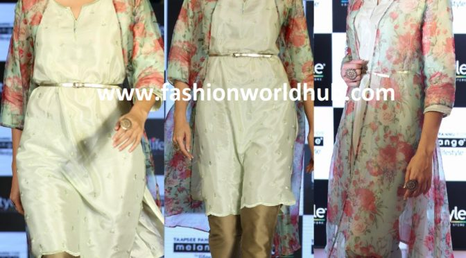 Taapsee Pannu in Melange by Lifestyle