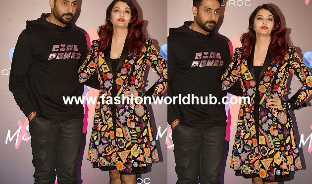 Aishwarya Rai Bachchan in Abu Jani Sandeep Khosla at MxS store Launch event!