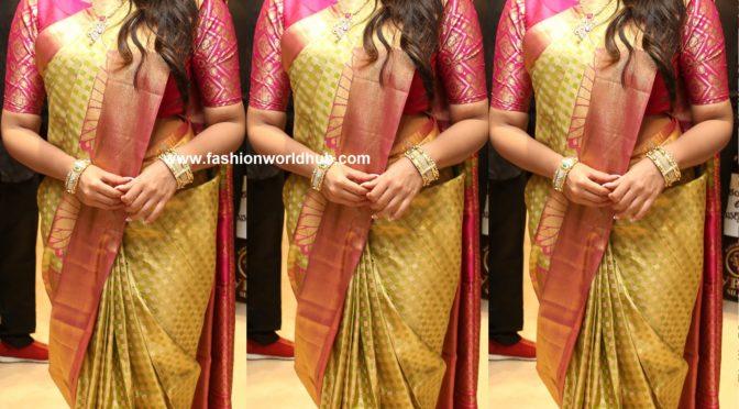 Anupama Parameswaran in Traditional look!
