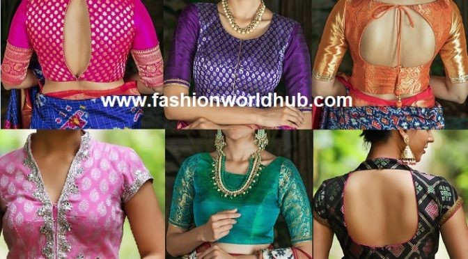 Latest Brocade Blouse Designs by House Of Blouse