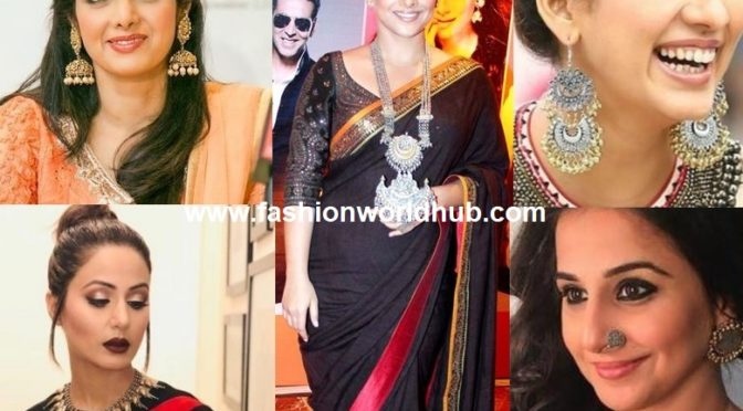 Jewelry: A mandatory add-on to complement your looks with any saree