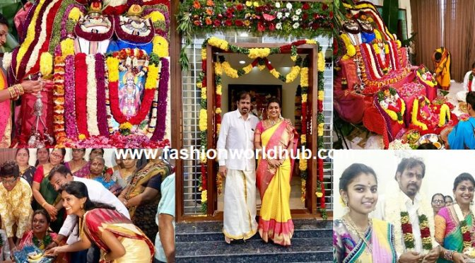 Actress Roja Selvamani House Warming Ceremony Photos!
