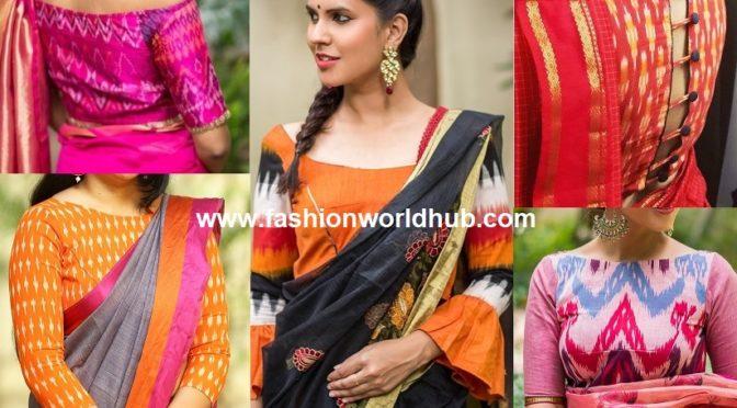 Ikat Blouse: An ultimate resort to your saree