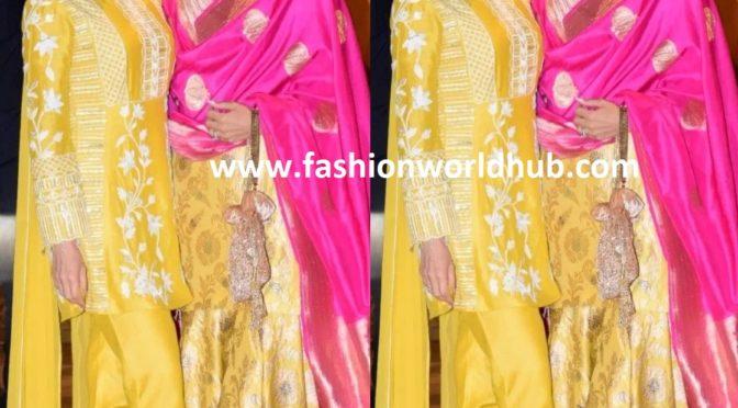 Karisma and Kareena twinning in yellow!