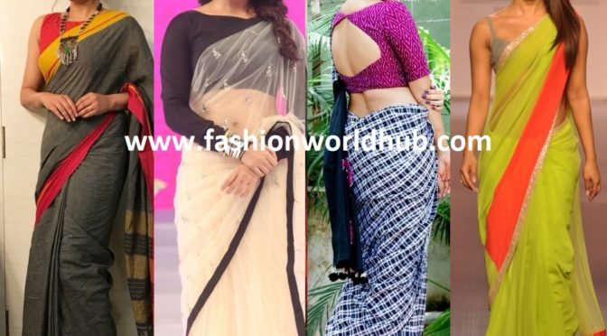 Light Weight Sarees for a Quick and Comfortable party look !