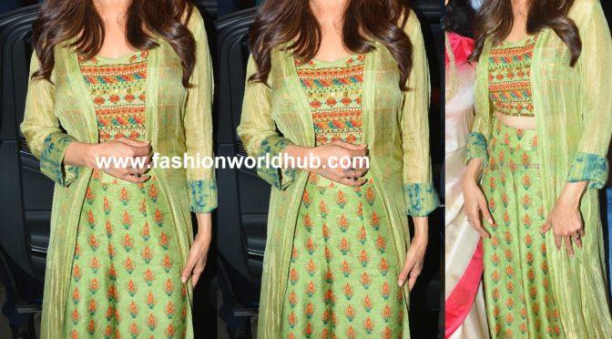 Madhuri Dixit in Label Anushree