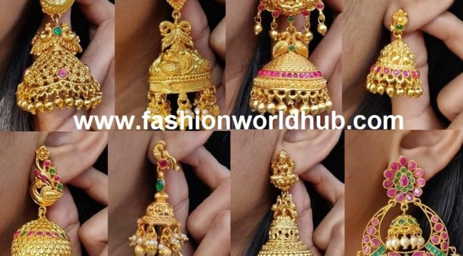 One gram gold ear rings!