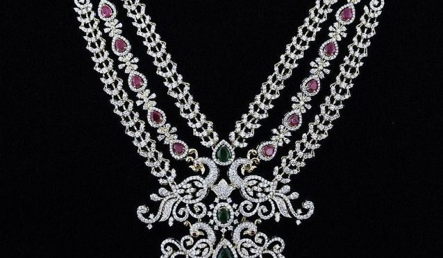 Peacock Diamond long chain!