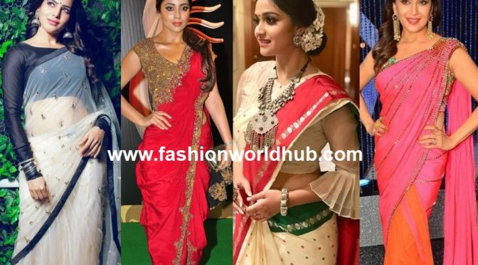 Some interesting ways to reuse your old sarees