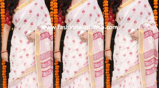 Sakshi Tanwar attended Ekta Kapoor's Ganesh Chaturthi Celebrations