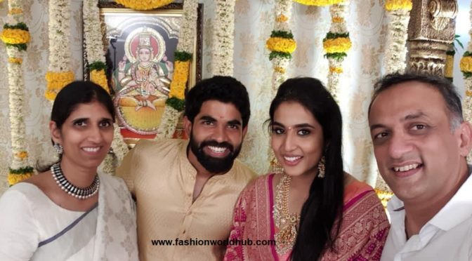SS Rajamouli Son got Engaged to Pooja Prasad ( Niece of Jagapathi babu)