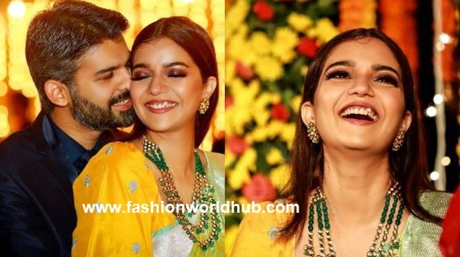 Swathi Reddy and Vikas Wedding Reception Photos!