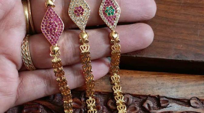 One Gram gold Bracelets!