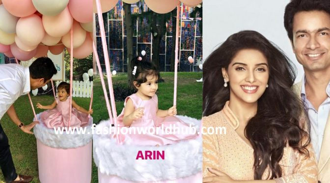 Actress Asin Daughter Arin First Birthday Celebration photos!