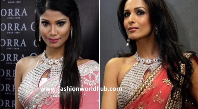 World's Most Expensive Designer Blouse ( Cost – INR – 8.46 Crs)