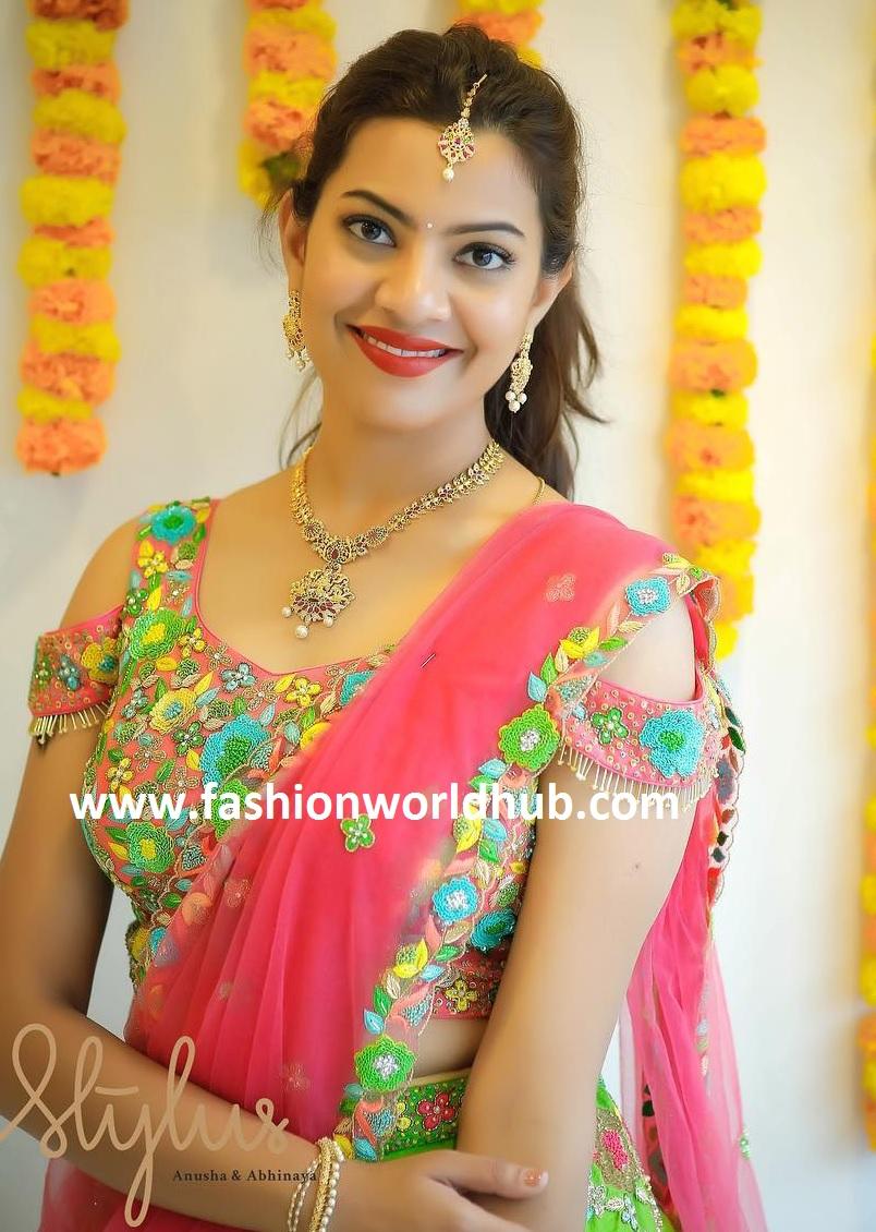 Geetha Madhuri in Stylus   Fashionworldhub