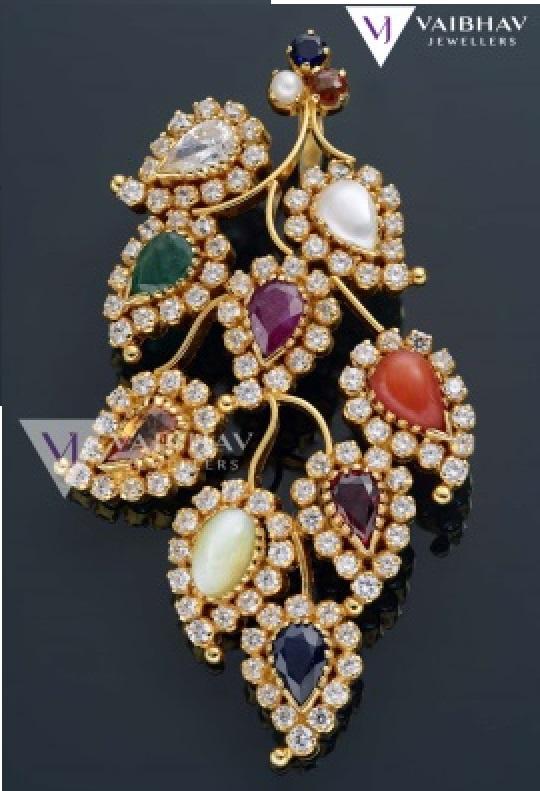 Gold Amp Diamond Antique Jewellery Designs By Vaibhav