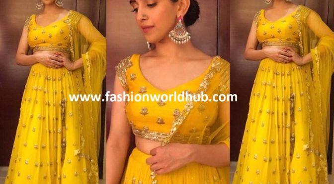 Sanya Malhotra in Ease