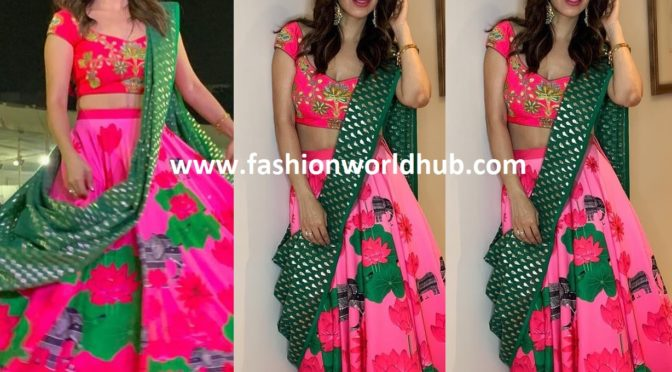 Sophie Choudry in Masaba