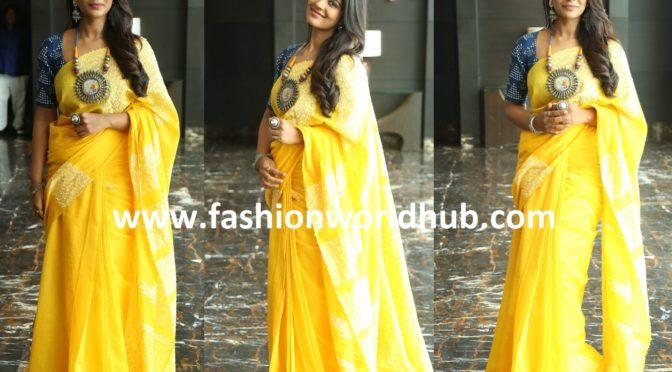 Aishwarya Rajesh in Raw Mango