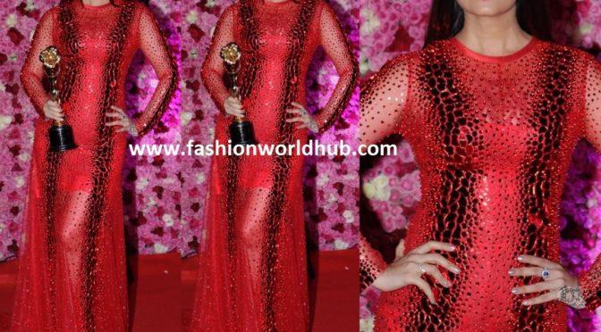 Aishwarya Rai Bachchan at the Lux Golden Rose Awards 2018