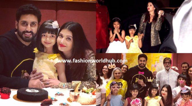 Aaradhya Bachchan Celebrates Her Seventh Birthday!