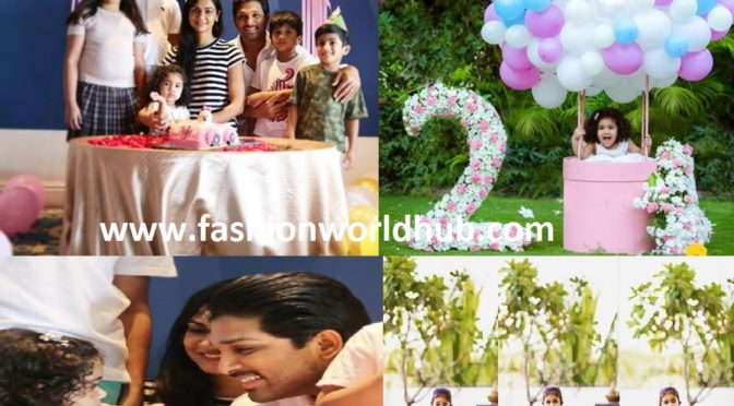 Allu Arjun Daughter Allu Arha Second birthday Celebration photos!